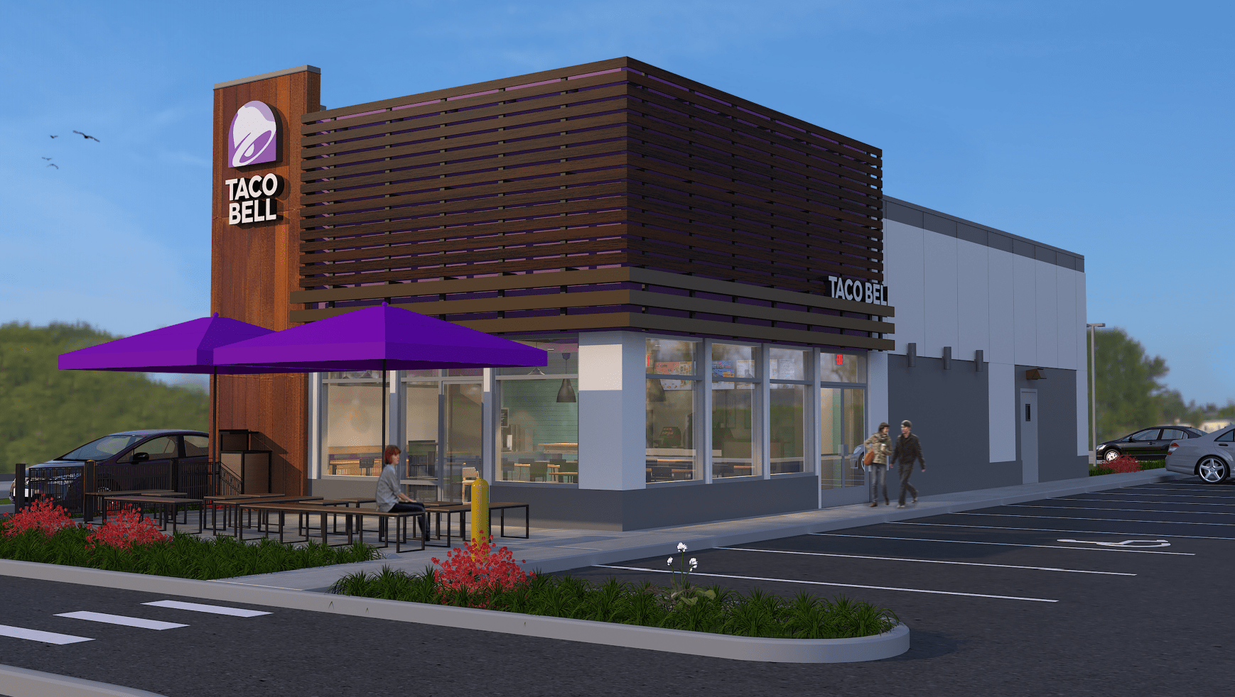 taco bell ferndale location approximate rendering 2