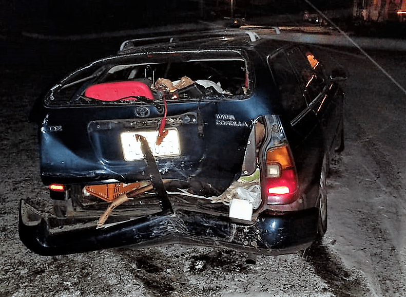 h a r crash victim vehicle