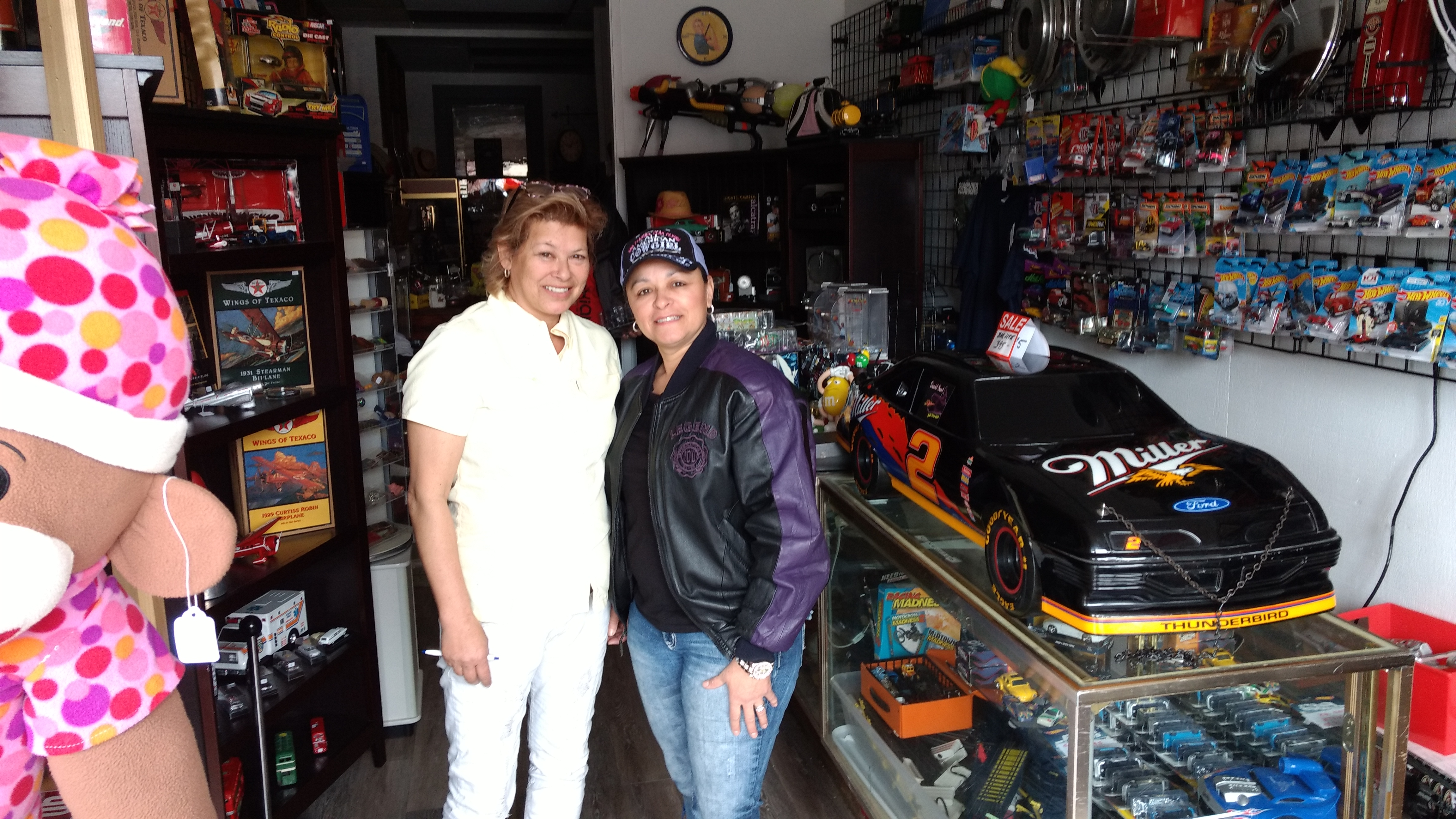 Lawrie and Mary Ochoa pose in their antiques store, Memory Lane Collectibles (April 6, 2019). Photo: My Ferndale News
