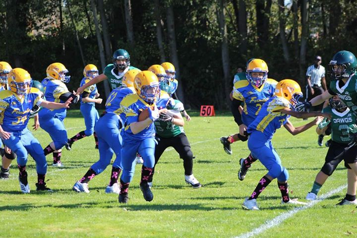 Ferndale Youth Football game. Photo courtesy of Mollie Gandy