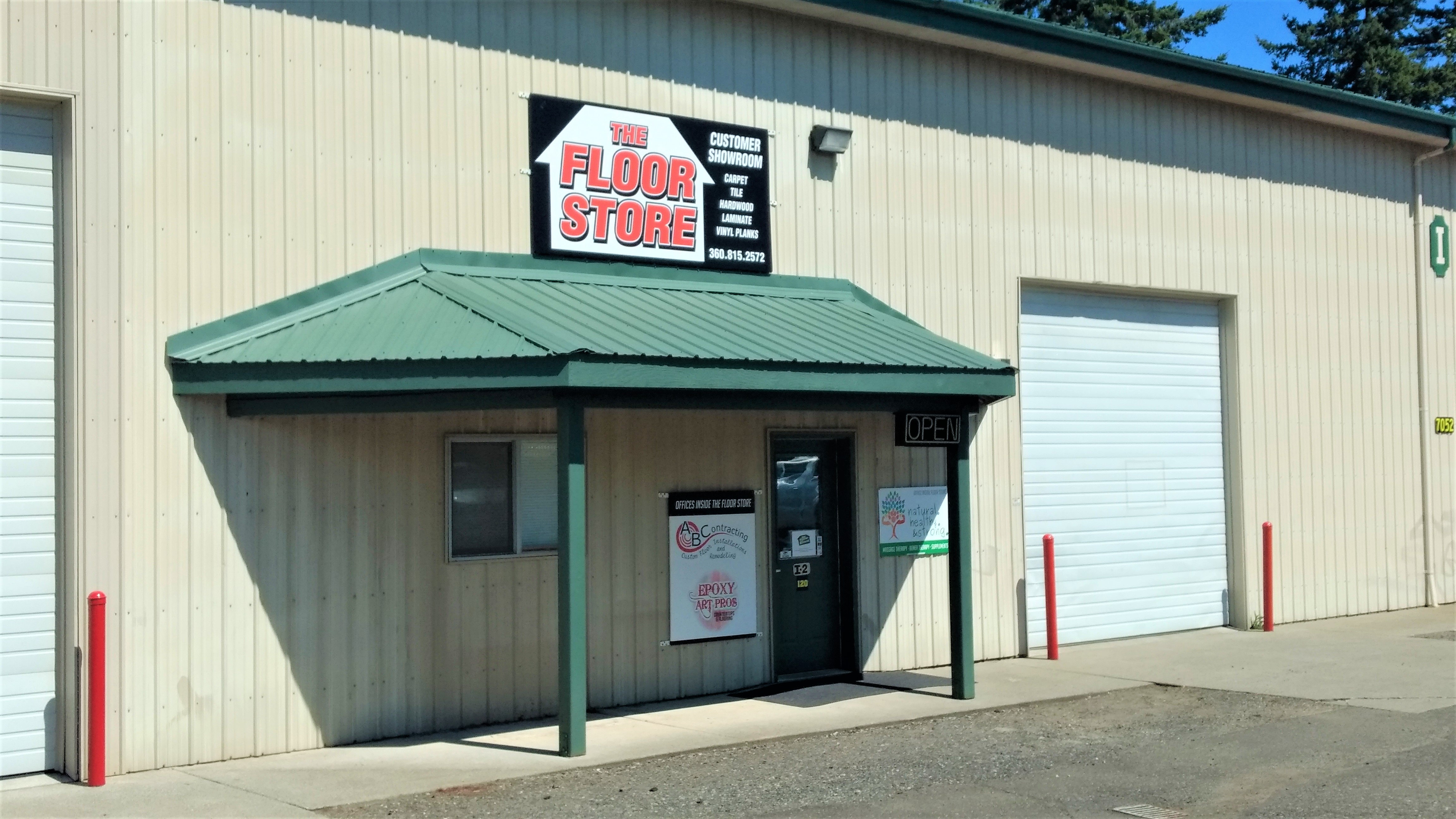Exterior of The Floor Store in Grandview Business Park (July 26, 2019). Photo: My Ferndale News