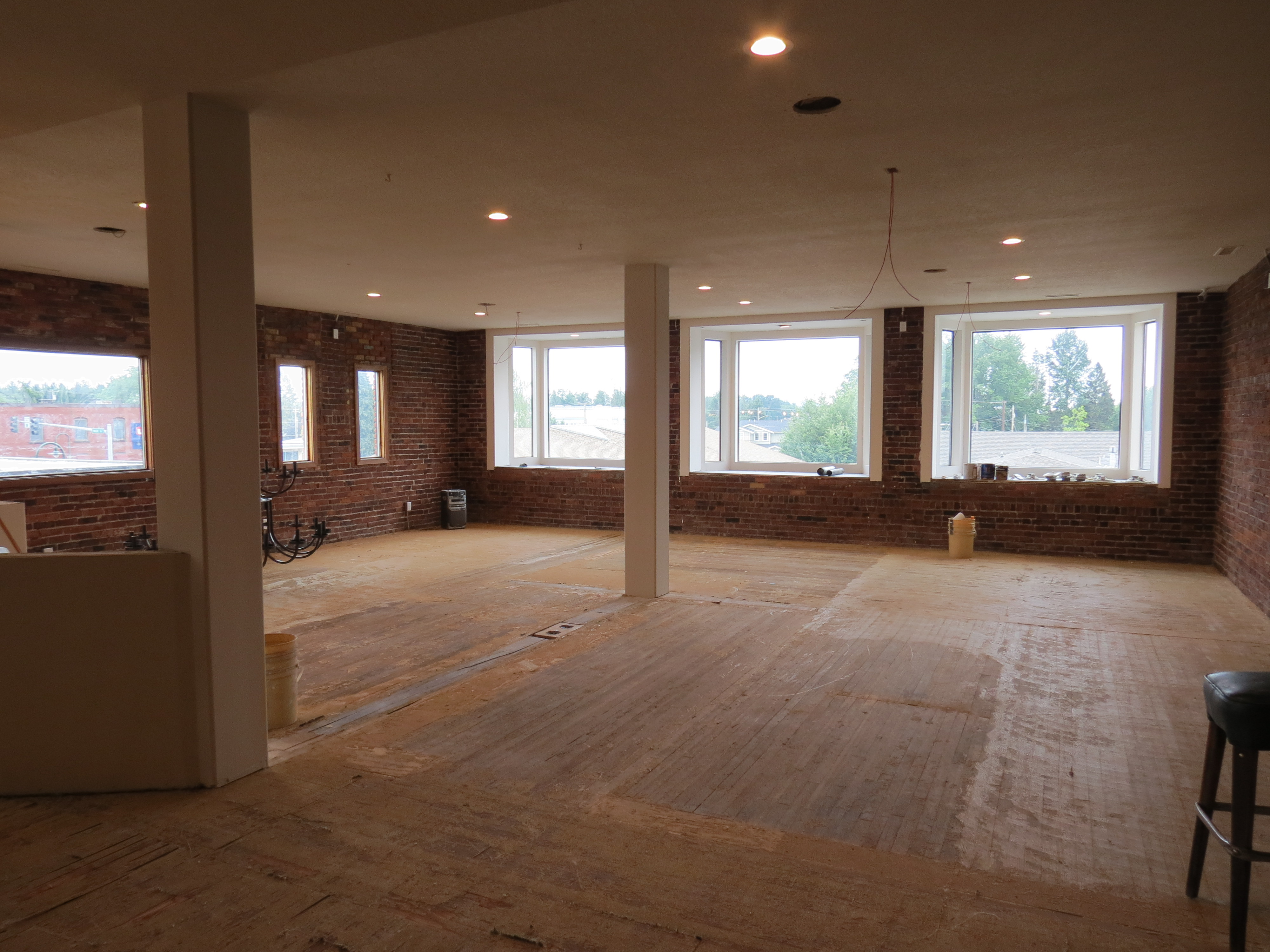 Remodeling underway at 2038 Main Street in preparation for opening a new restaurant (July 3, 2019). Photo: My Ferndale News
