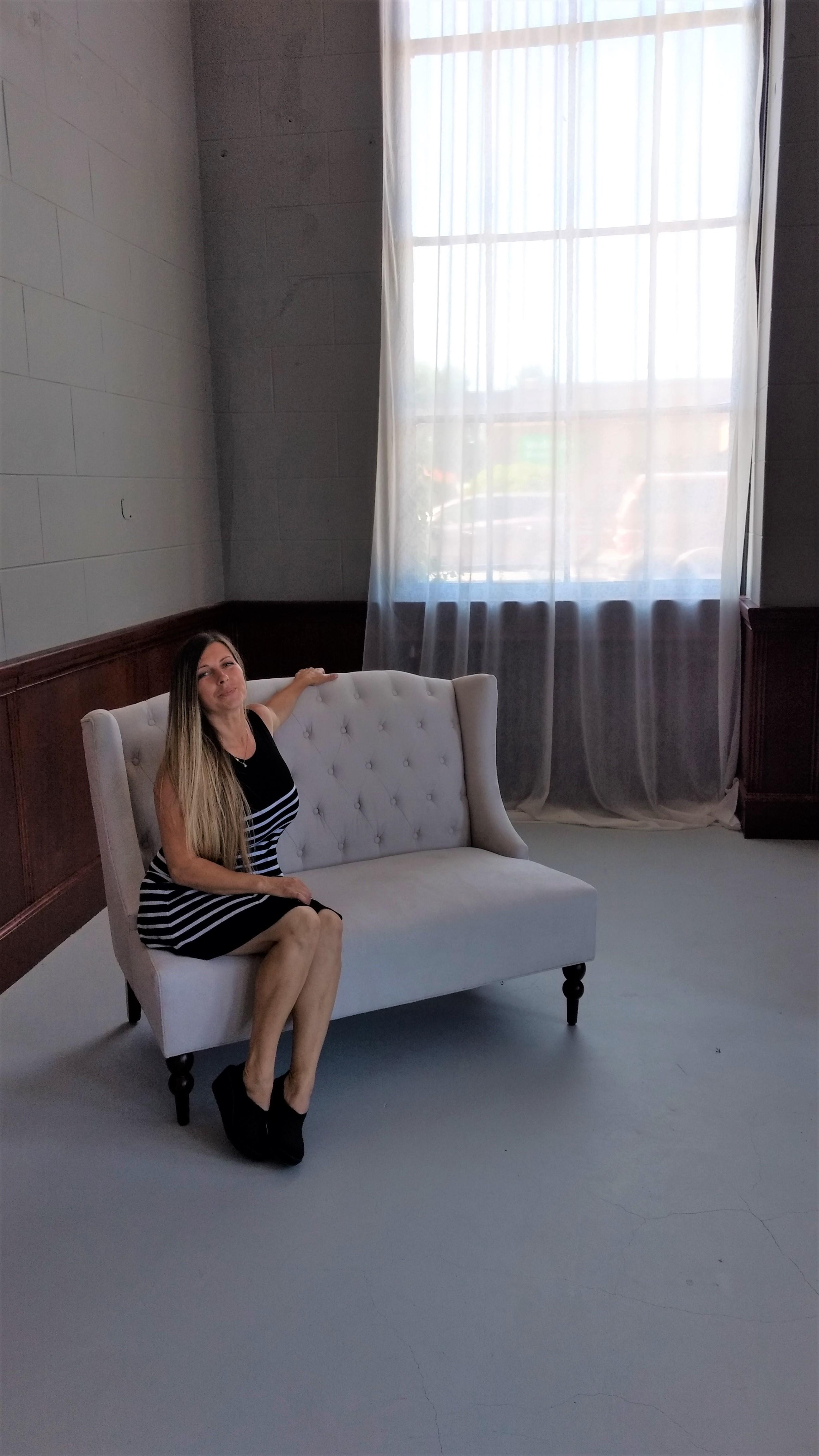 Owner Simona Nicolau poses inside Vine Creative Spaces Studio (July 25, 2019). Photo: My Ferndale News