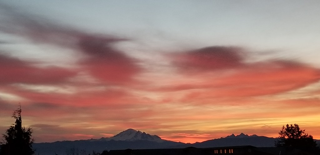 Sunrise from Pacific Heights (November 8, 2019). Photo courtesy of Todd Young.