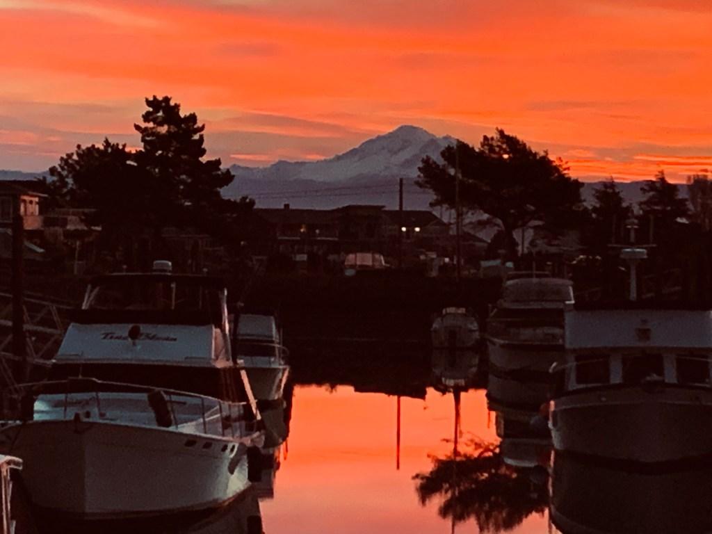 Sunrise (November 8, 2019). Photo courtesy of Sharon Reese