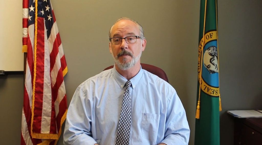 Mayor Greg Hansen speaks to the Ferndale community via a city-published video message (April 24, 2020).