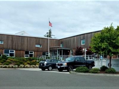 Ferndale Public Library (June 28, 2018). Photo: Whatcom News