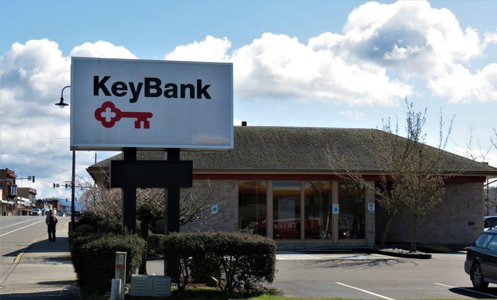 Ferndale KeyBank branch (March 22, 2021). Photo: My Ferndale News