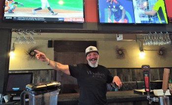 Riverside Bar & Grill Manager Ko Yeaman (July 21, 2021). Photo: Whatcom News