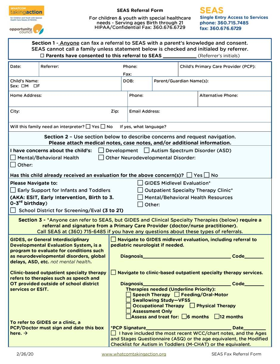 SEAS Fax Referral Form + instructions and added info FILLABLE 2020-02-26_Page_1