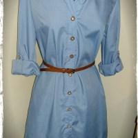 Simplicity 8014 Shirt Dress Pattern Review