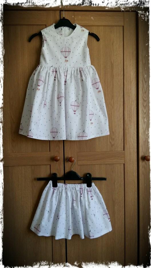 Girls elasticated skirt tutorial