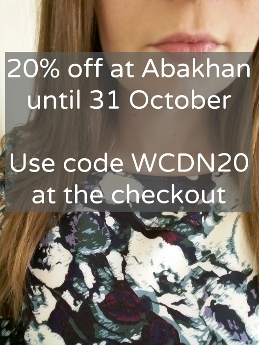 Abakhan discount code