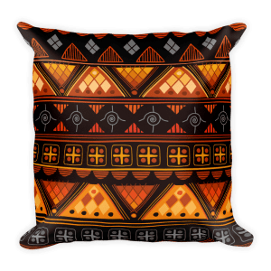 Aztec bright – Native American Styles Decorative Square Pillow