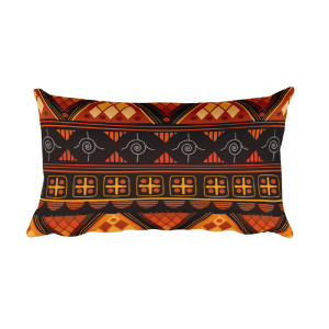 Aztec bright - Native American Styles Decorative Rectangular Pillow