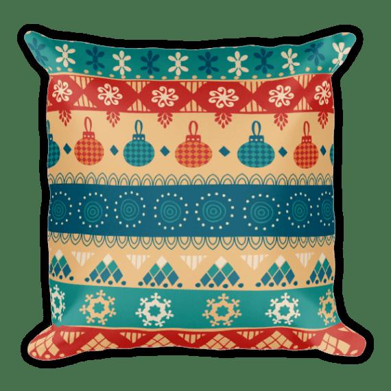 christmas present Square Pillow