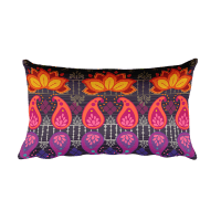 Cute Colorful Rectangular Pillow