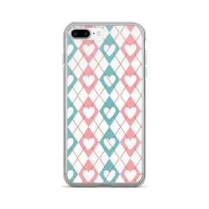 Diamonds Of Love iPhone 7/7 Plus Case