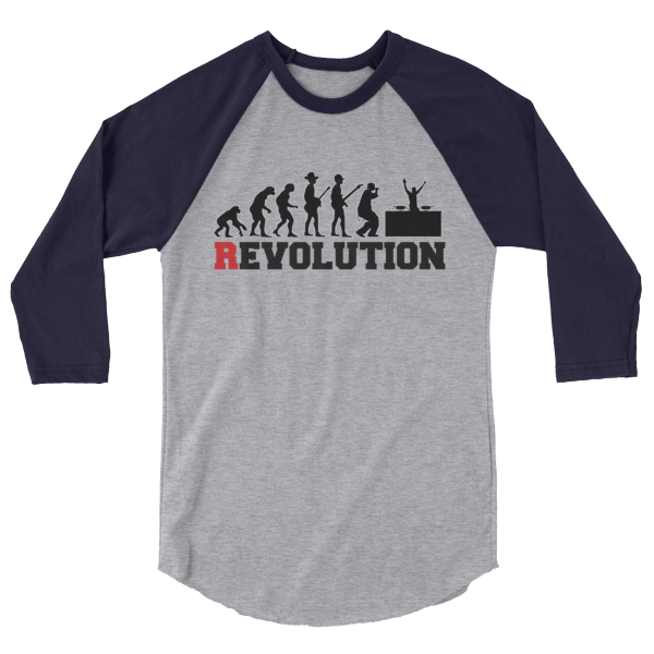 Funny Musicians Party Revolution Long-Sleeve Shirt