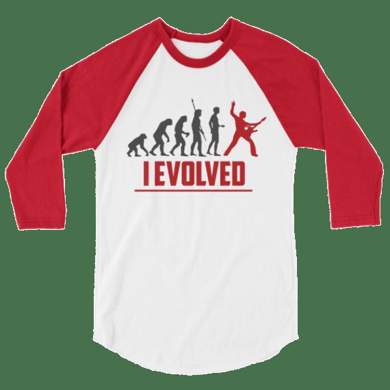 Guitar Player Evolution - I Evolved Long-Sleeve Shirt