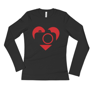 Ladies' Love Photography Long Sleeve T-Shirt