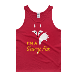 Men's I'm A Savvy Fox Tank top