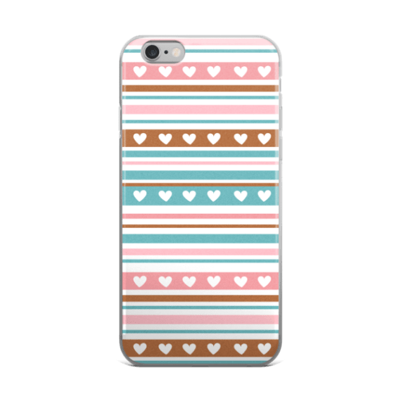 Valentines Day Graphics For iPhone 5/5s/Se, 6/6s, 6/6s Plus Case