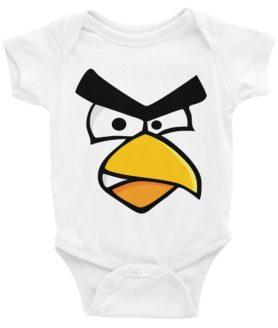 ANGRY CARDINAL BIRD Infant Bodysuit