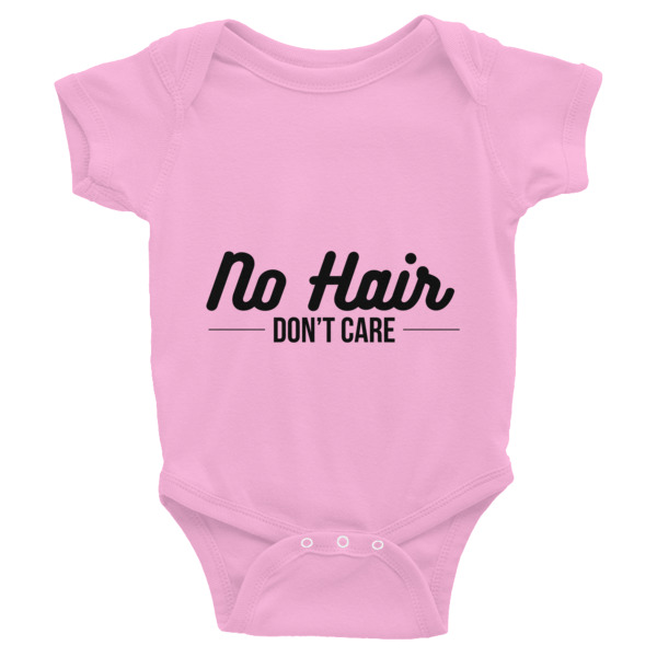 No Hair, Don't Care Infant Bodysuit