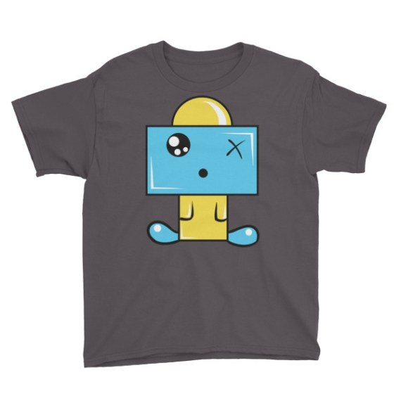 Youth Baby Robot Short Sleeve T-Shirt