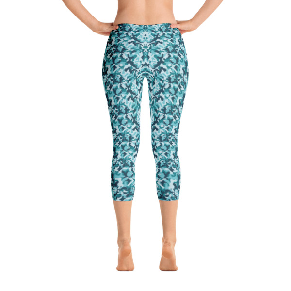 Army Camouflage Capri Leggings – RUNNING PANTS