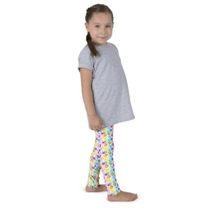 Colorful Hand Prints Kid's leggings