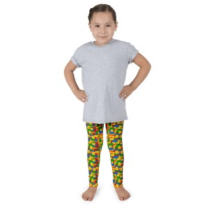 Building Blocks Kid's leggings