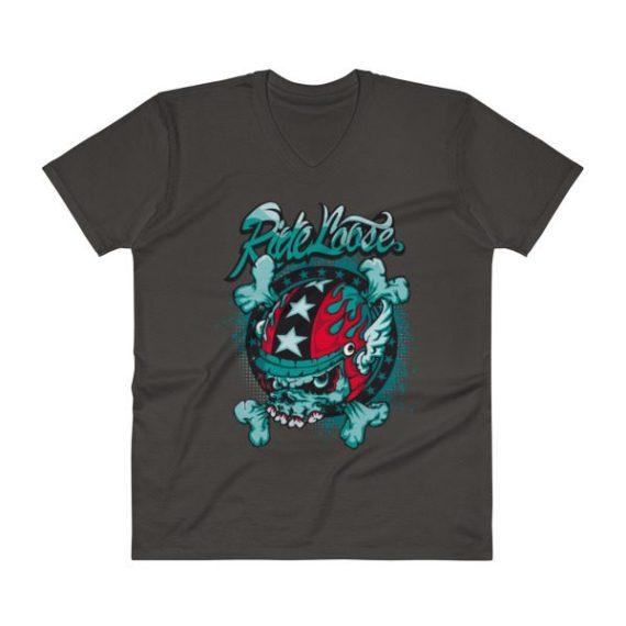 Elegant V-Neck T-Shirt