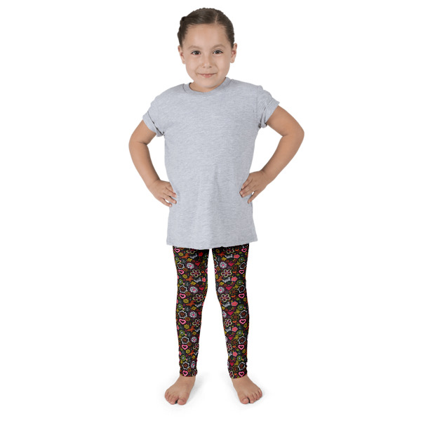 Love Flowers Kid's leggings