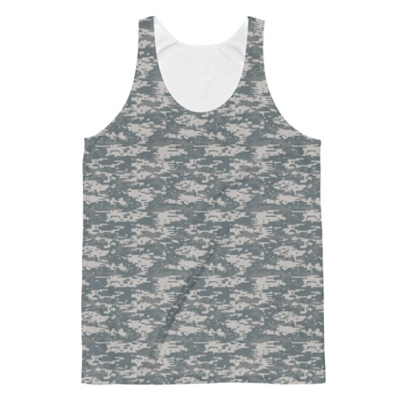 Unisex US Military Classic Fit Tank Top