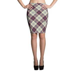 Women's Lovely Vintage Pencil Skirt