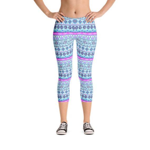 Women Yoga Fitness Capri Leggings Running Gym Stretch Sports Pants
