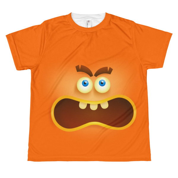 youth Angry Face T-shirt