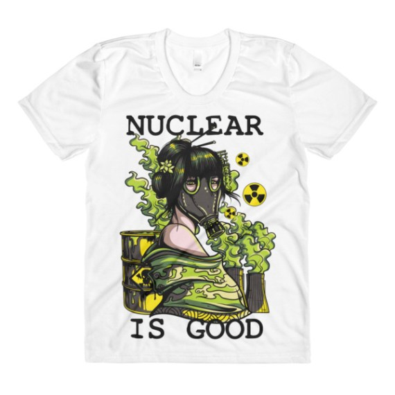 women's Nuclear is good crew neck t-shirt