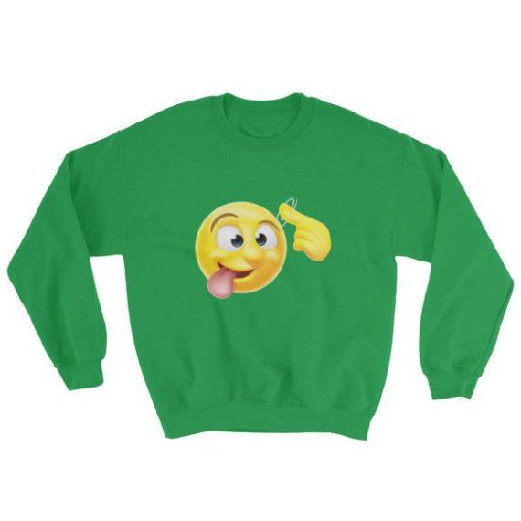 Crazy Emoji Sweatshirt
