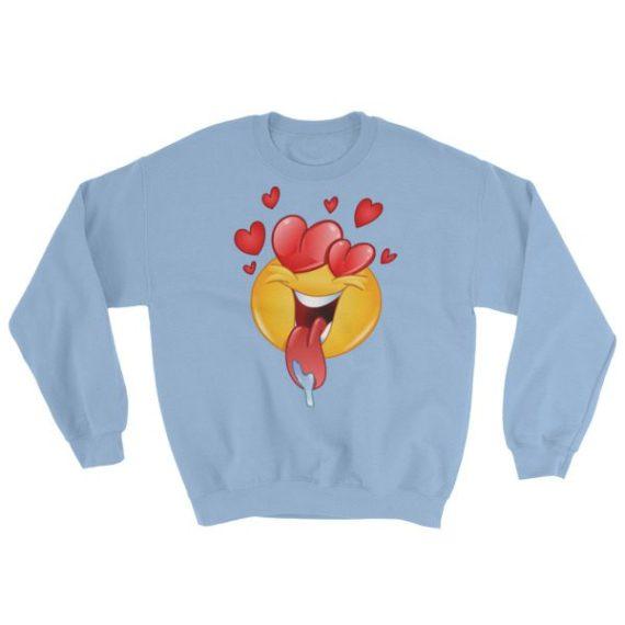Love Emoji Sweatshirt