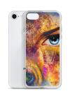 cute colorful eye iPhone Case