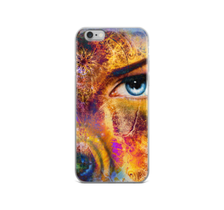 cute colorful eye iPhone Case