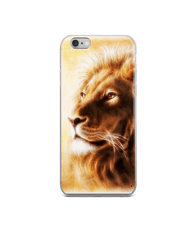 lion head iPhone Case