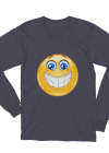 Unisex Big smile Long Sleeve T-Shirt