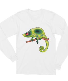 Unisex Chameleon Changing Color Long Sleeve T-Shirt