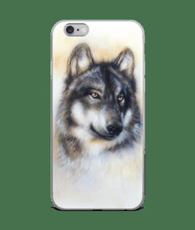 Wolf, wild animal iPhone Case