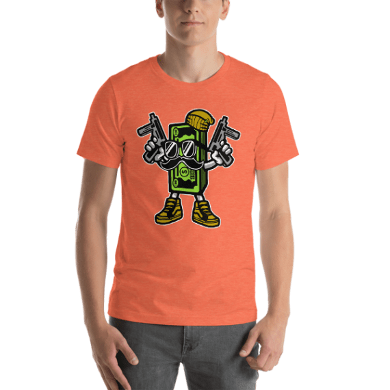 Cash Rules Short Sleeve Unisex T-Shirt