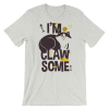 Cute Gift for Crazy Cat Lovers, I'm Clawsome - Funny Short Sleeve Women's T-Shirt